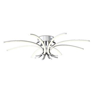 Malcom 8-Light Semi Flush Mount by Orren Ellis