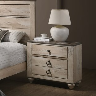 Tavistock 3 Drawer Nightstand