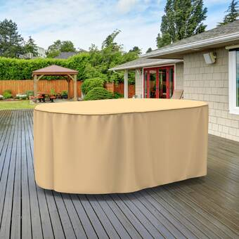 Arlmont Co Eduardo Slim Patio Table Cover Wayfair