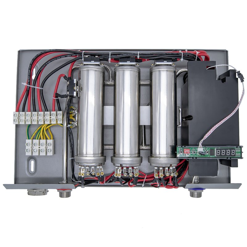 self-modulating 36 kw/240 volts 6 1 gpm electric tankless water heater