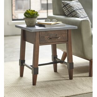 St Andrews End Table with Storage by Millwood Pines