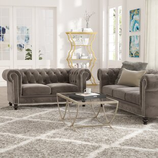 Mistana Brooklyn 2 Piece Living Room Set