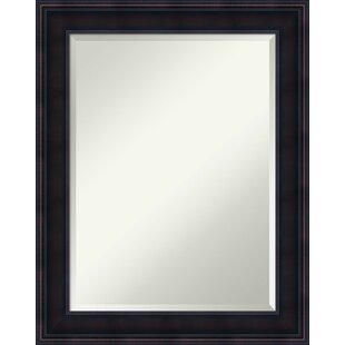 Darby Home Co Panel Wood Wall Mirror