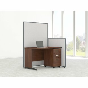 Bush Business Furniture ProPanel Standard 5 Piece Desk Office Suite