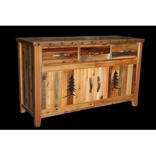 Jorgensen 3 Drawer Buffet Table