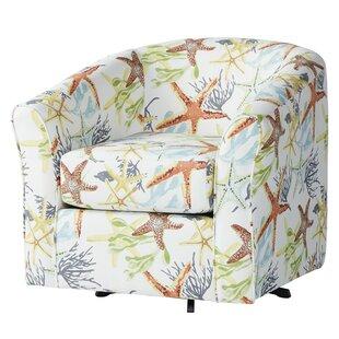 Ginsburg Swivel Barrel Chair