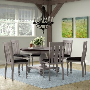 Mixon 7 Piece Solid Wood Dining Set by Au..