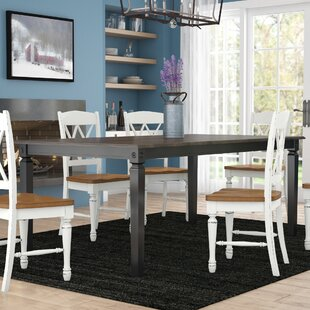 Nunnery Rectangular Dining Table Gracie Oaks