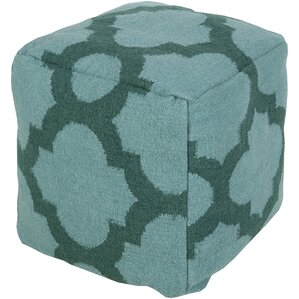 Aalia Pouf Ottoman by Bungalow Rose