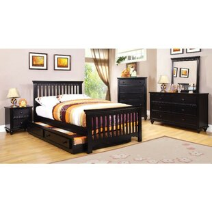Roma Transitional Panel Bed