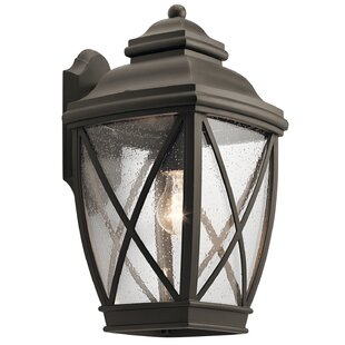 Sunnydale 1-Light Outdoor Wall Lantern By Darby Home Co Outdoor Lighting