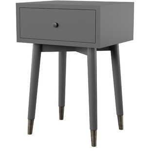 Pellston End Table with Storage