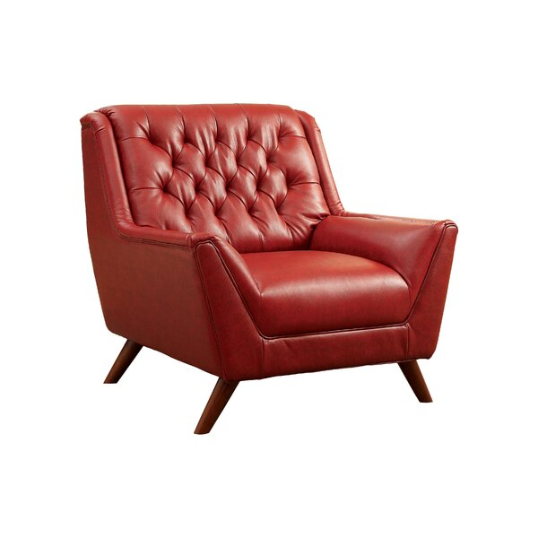 Hokku Designs Daine Modern Tufted Club Chair U0026 Reviews | Wayfair