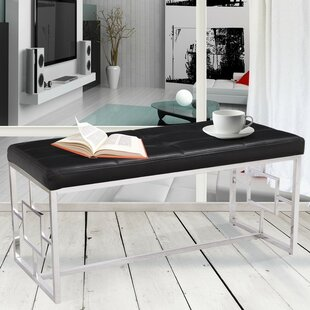 Corsa Upholstered Bench by Ivy Bronx
