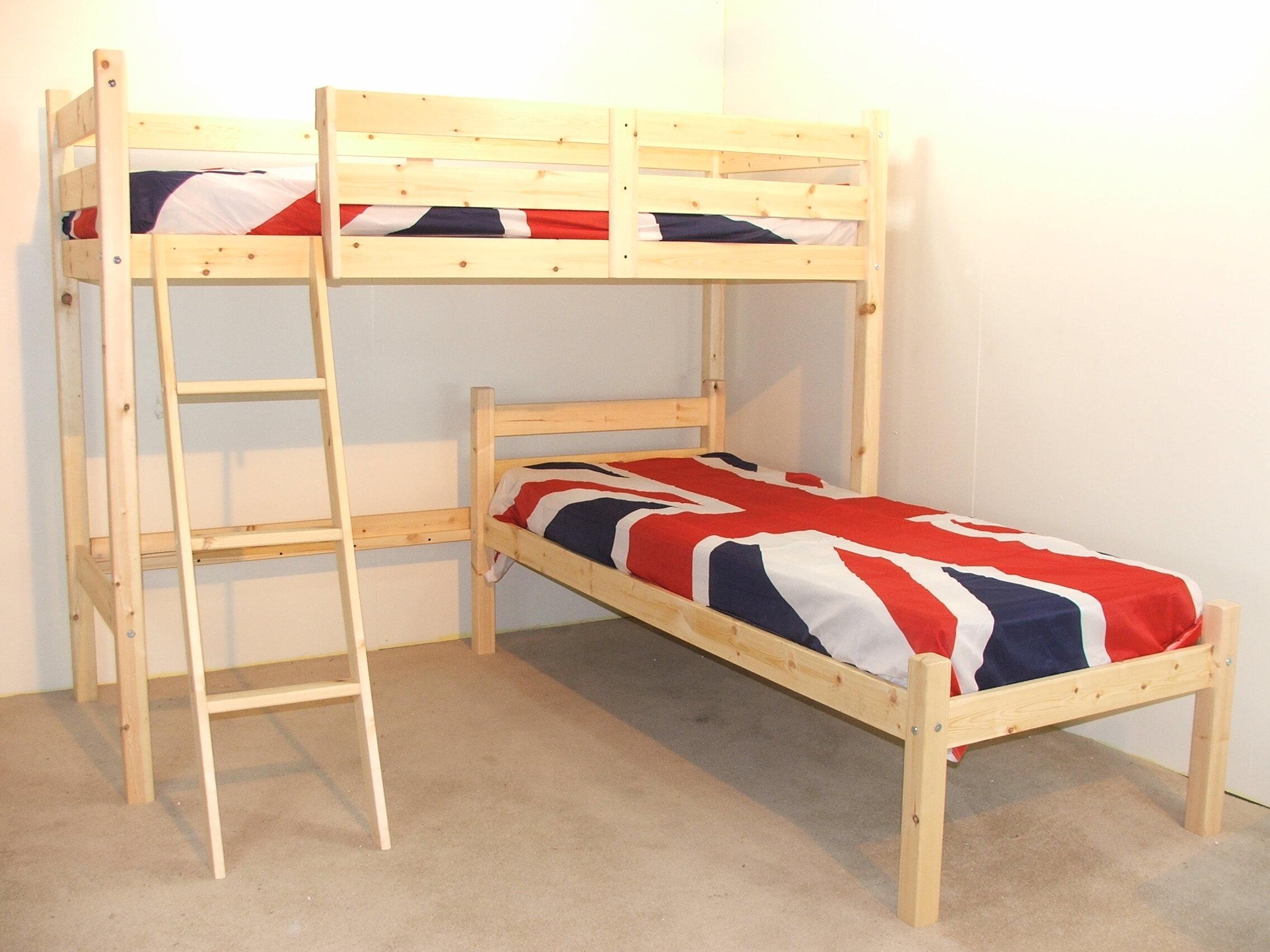 Just Kids Croydon L Shaped Bunk Bed Reviews Wayfaircouk