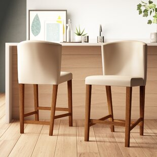 Top Reviews Mcgrail 24 Bar Stool (Set of 2) by Ivy Bronx Reviews (2019) & Buyer's Guide