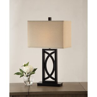 Gill Polyresin Rectangular 27 Table Lamp (Set of 2)