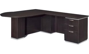 Pimlico Right Peninsula L-Shape Peninsula Executive Desk