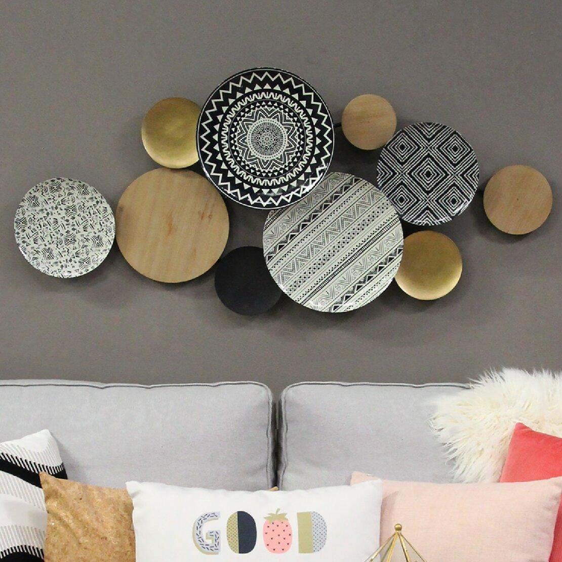 Dakota Fields Medley Plates Wall Decor Reviews Wayfair