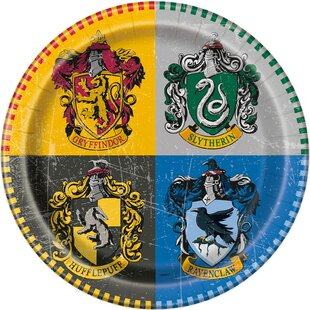 Harry Potter Paper Disposable Dessert Plate (Set of 8)
