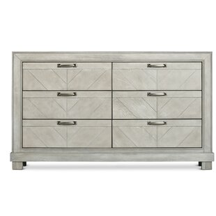 Vachel 6 Drawer Double Dresser