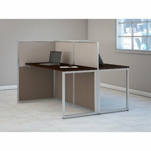 Easy Office Standard Desk Office Suite by Bush Business Furniture Sale
