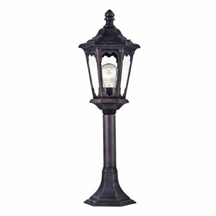Coffield 1-Light Pedestal Light By Sol 72 Outdoor