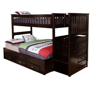 Buy clear Trumble Twin Over Full Bunk Bed with Drawers By Viv + Rae