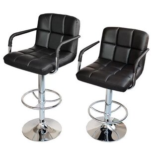 Great deal Adjustable Height Swivel Bar Stool (Set of 2) by Calhome Reviews (2019) & Buyer's Guide