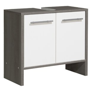 Oliver 62cm Wall Mounted Under Sink Cabinet By Quickset