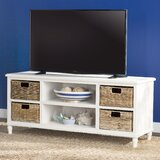Santa Cruz Solid Wood TV Stand for TVs up to 55 by Charlton Home®