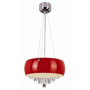 TransGlobe Lighting Tula 6 Light Mini Drum Pendant
