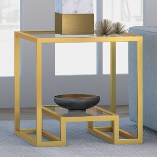 Imel End Table by Mercer41