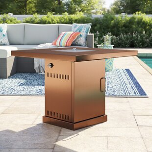 Barrett Conventional Steel Propane Fire Pit Table