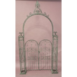 Caelan Arch With Gate By Lily Manor