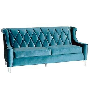 Velvet Royal Blue Sofa | Wayfair