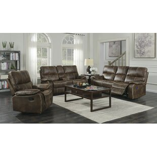 17 Stories Diorio Reclining Configurable Living Room Set