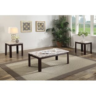 Lulie 3 Piece Coffee Table Set