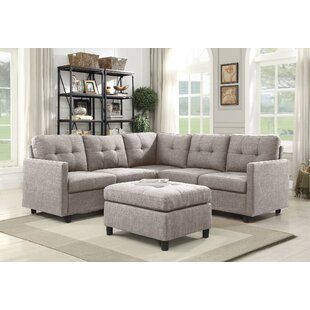 Brayden Studio Dolly Modular Sectional wi..