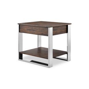 Castellano End Table with Storage by Orren Ellis