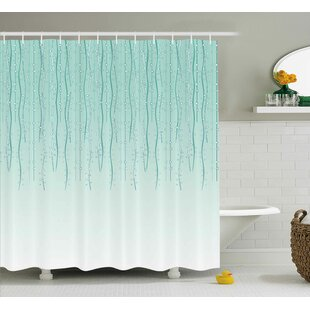 Big Save Holley Little Circles Triangle Print Shower Curtain By Ebern Designs