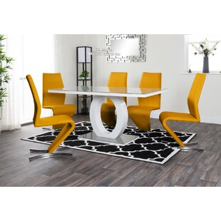 Reculver Dining Set With 6 Chairs By Wade Logan
