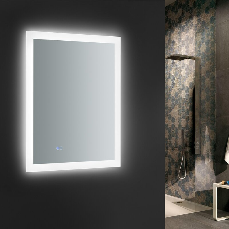 Fresca Angelo Bathroom Mirror With Led