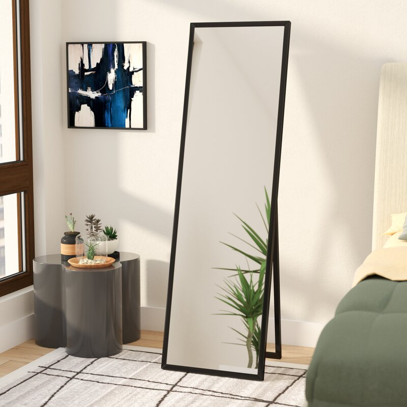 Wrought Studio Mcgary Free Standing Floor Modern Contemporary Full Length Mirror Reviews Wayfair