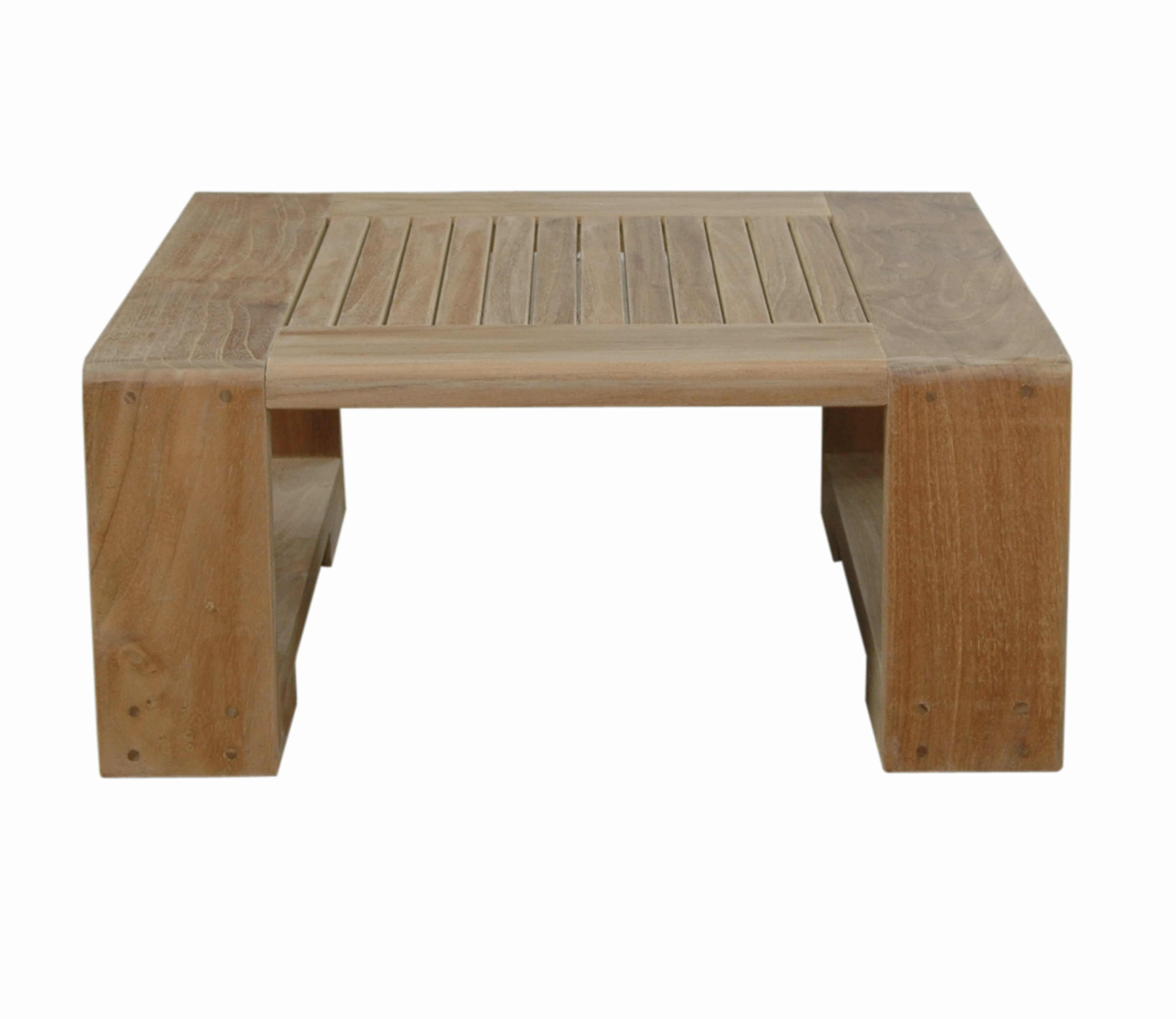 Picture of: Rosecliff Heights Lochlan Teak Side Table Wayfair