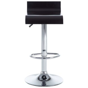 Lidiaídia Height Adjustable Swivel Bar Stool (Set Of 2) By Metro Lane