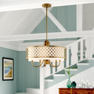 Tymvou 6-Light Drum Chandelier by Beachcrest Home