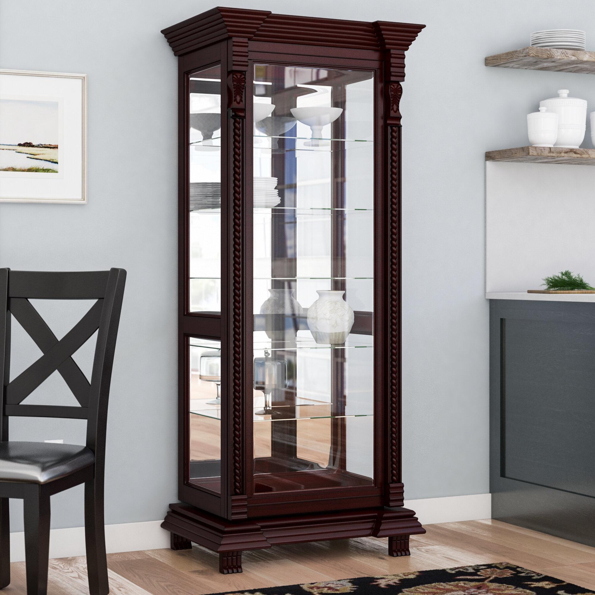 Astoria Grand Ansel Curio Cabinet Reviews