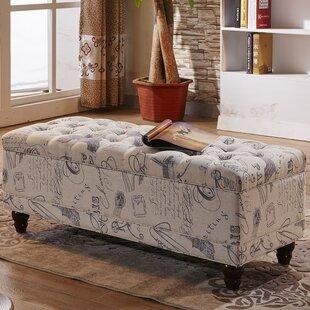 Upholstered Storage Bench by NOYA USA