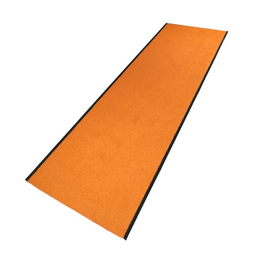 Kilmer Orange Rug Mercury Row Rug size: Runner 100 x 2300 cm